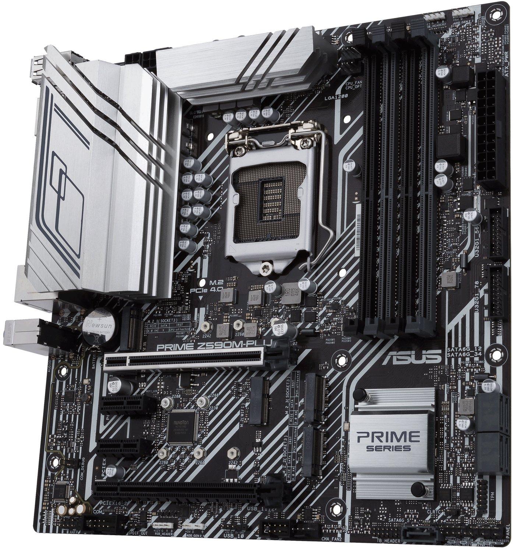 Материнська плата ASUS PRIME_Z590M-PLUS s1200 Z590 4xDDR4 M.2 Wi-Fi !!! BT DP-HDMI-DVI ATXфото