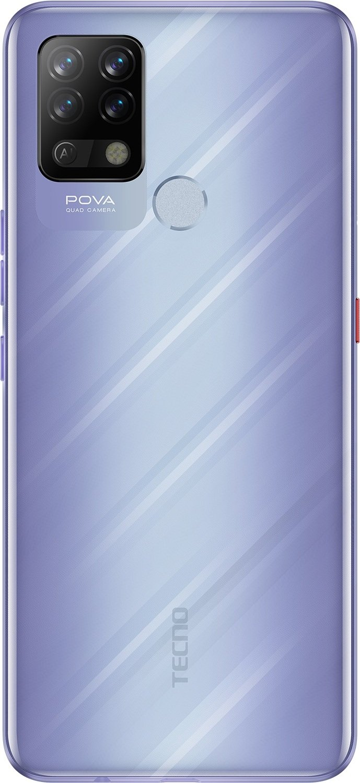 Смартфон TECNO Pova (LD7) 6/128Gb DS Speed Purple фото
