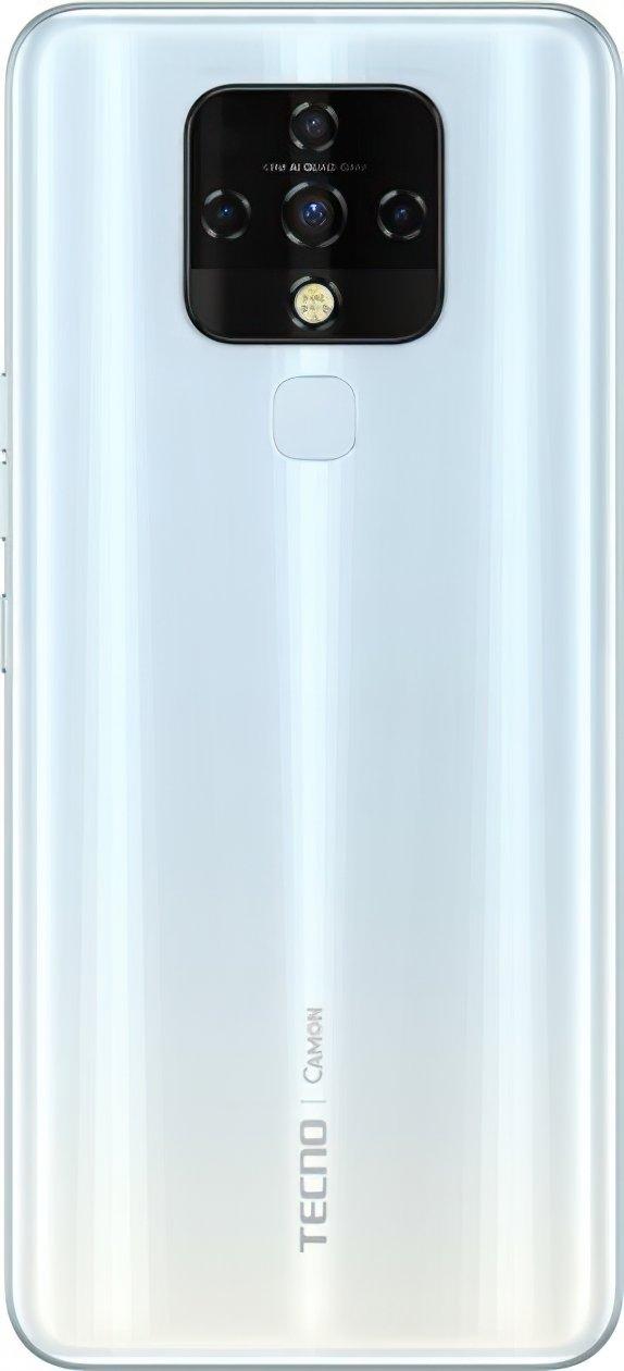 Смартфон TECNO Camon 16 SE (CE7j) 6/128Gb DS Cloud White фото