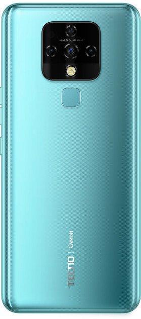 Смартфон TECNO Camon 16 SE (CE7j) 6/128Gb DS Purist Blue фото 3