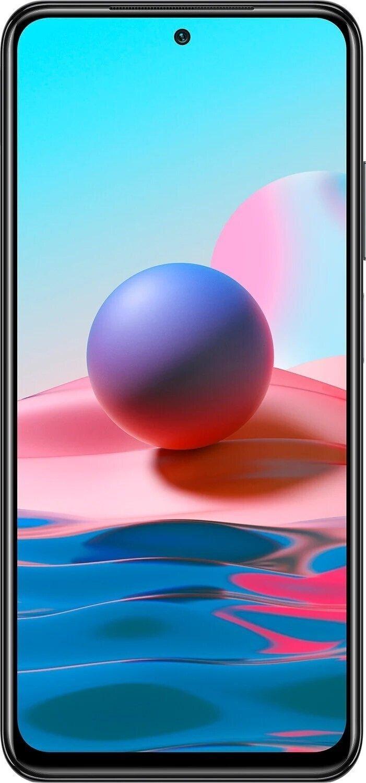 Смартфон Xiaomi Redmi Note 10 4/64Gb Onyx Gray (M2101K7AG) фото 2