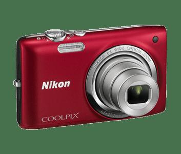 ≡ Фотоапарат NIKON Coolpix S2700 Red + case (VNA302KV01) – купити в ... f2b5cbacd2b2b