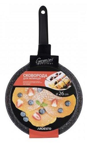 Сковорода для блинов Ardesto Gemini Gourmet 26 см (AR1926GBP) фото 3