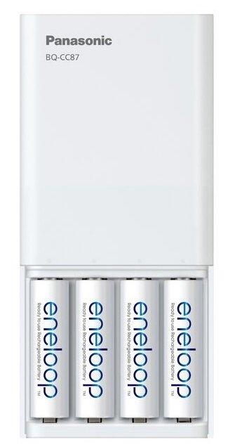 Зарядний пристрій Panasonic USB in/out з функцією Power Bank (BQ-CC87USB)фото