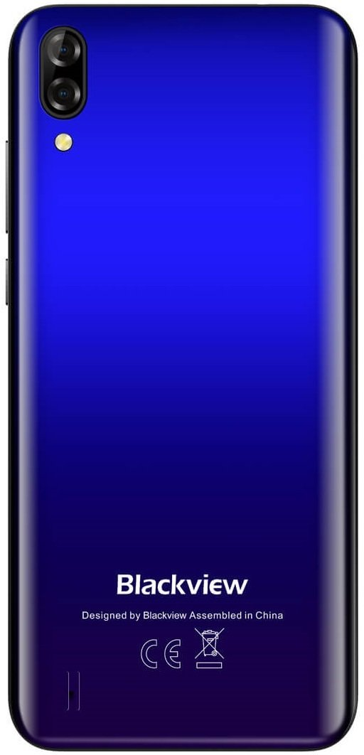 Смартфон Blackview A60 2/16Gb DS Blue OFFICIAL UA фото
