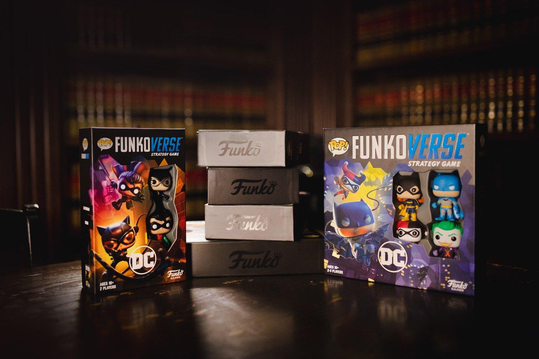 Настольная игра POP! Funkoverse: DC Comics 100 Base Set 42628 (FUN25503) фото 11