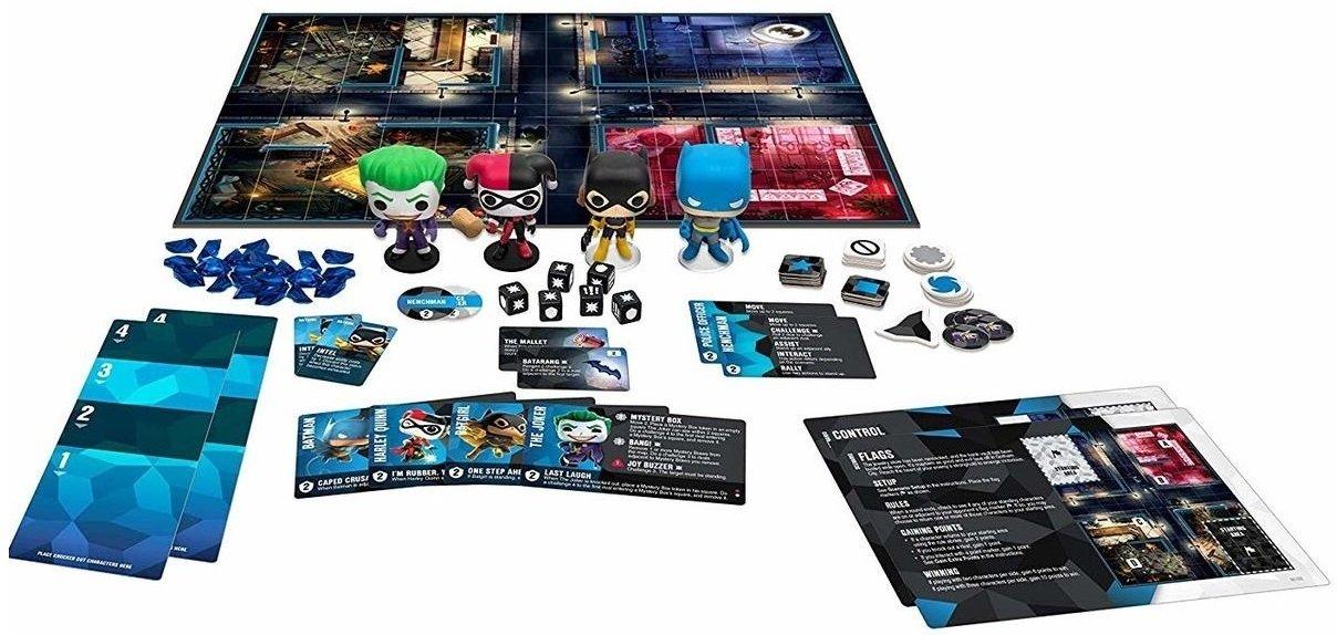 Настольная игра POP! Funkoverse: DC Comics 100 Base Set 42628 (FUN25503) фото 3