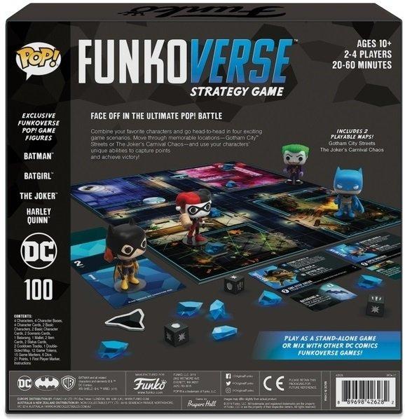 Настольная игра POP! Funkoverse: DC Comics 100 Base Set 42628 (FUN25503) фото 4