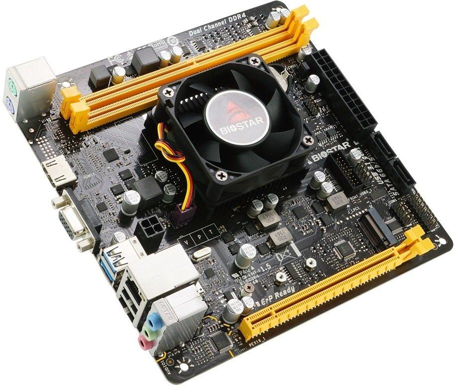 Материнська плата Biostar A10N-9830E CPU AMD фото