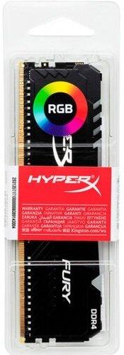 Пам'ять для ПК Kingston DDR4 3000 16GB HyperX FuryRGB (HX430C16FB4A/16)фото2