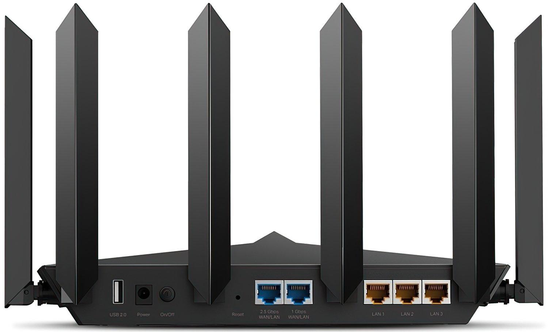 Роутер TP-LINK ARCHER AX90 AX6600 3xGE LAN 1x2.5GE WAN 1xGE WAN USB 3.0 USB 2.0 OFDMA 3-band (ARCHER-AX90) фото
