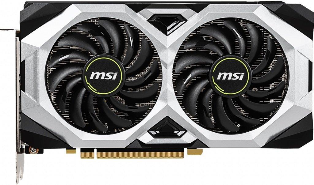 Відеокарта MSI GeForce RTX2060 6GB GDDR6 VENTUS GP OC (GF_RTX2060_VENTUS_GP_OC)фото2