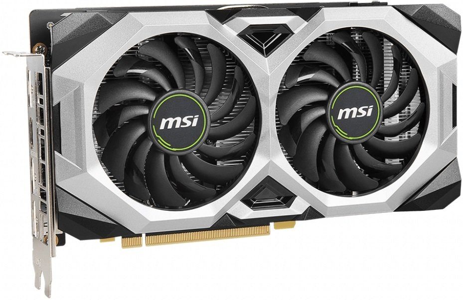 Відеокарта MSI GeForce RTX2060 6GB GDDR6 VENTUS GP OC (GF_RTX2060_VENTUS_GP_OC)фото3