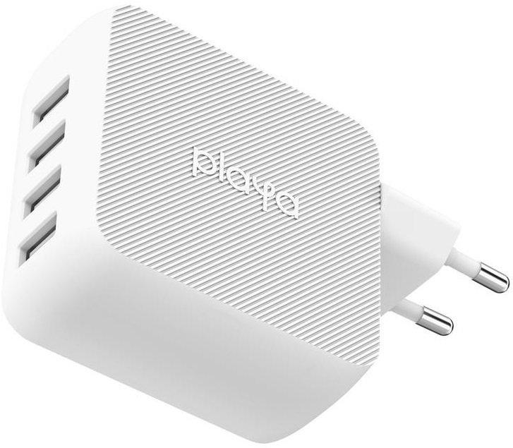 Сетевое зарядное устройство Playa by Belkin Home Charger 40W 4хUSB White (PP0003VFC2-PBB) фото 3