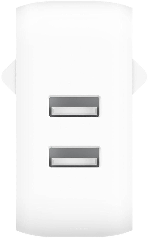 Сетевое зарядное устройство Playa by Belkin Home Charger 12W DUAL USB White (PP0007VFC2-PBB) фото 4