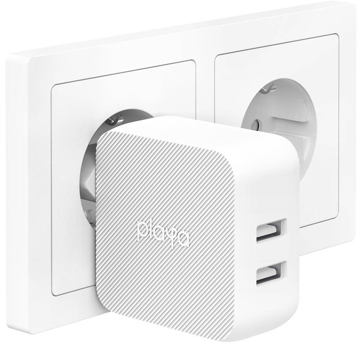Сетевое зарядное устройство Playa by Belkin Home Charger 12W DUAL USB White (PP0007VFC2-PBB) фото 5