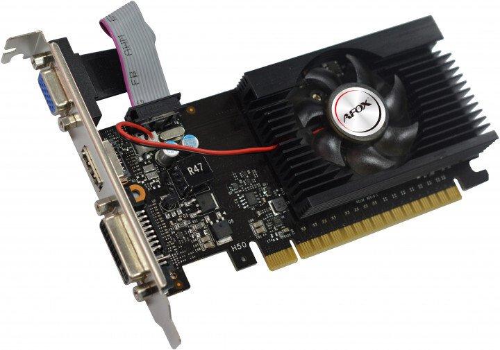 Відеокарта AFOX Geforce GT710 2GB DDR3 (AF710-2048D3L1-V2)фото3