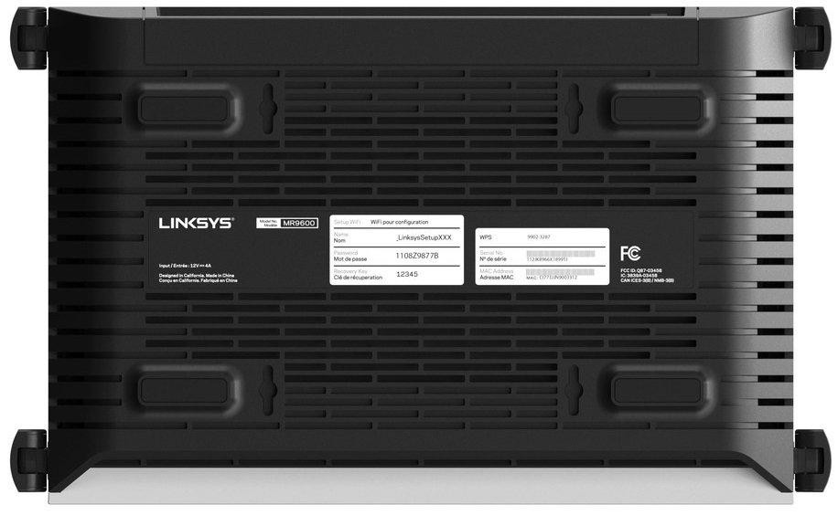 Маршрутизатор LINKSYS MR9600 (MR9600-EU)фото7