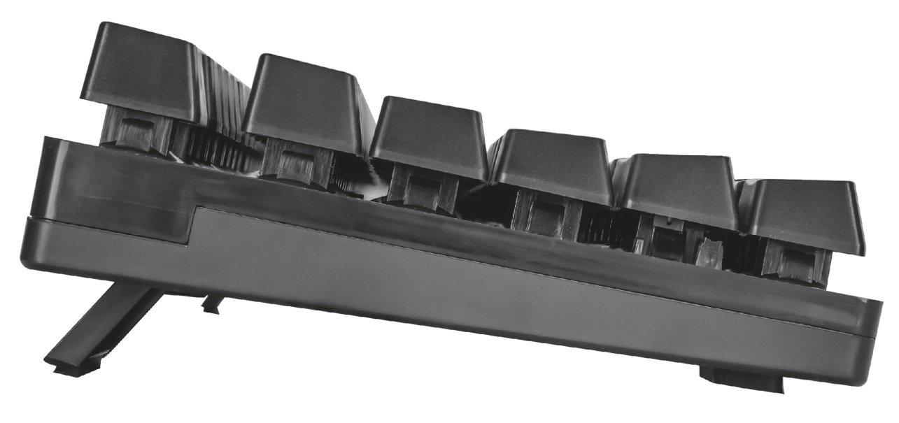 Игровая клавиатура Trust GXT835 Azor USB Black (23651) фото 5