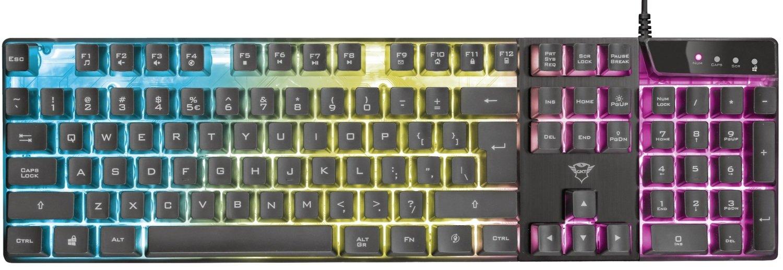 Игровая клавиатура Trust GXT835 Azor USB Black (23651) фото 4