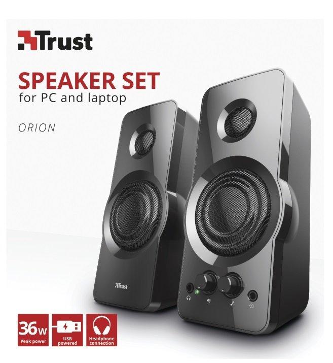 Акустична система Trust 2.0 Orion USB Black (23695)фото6