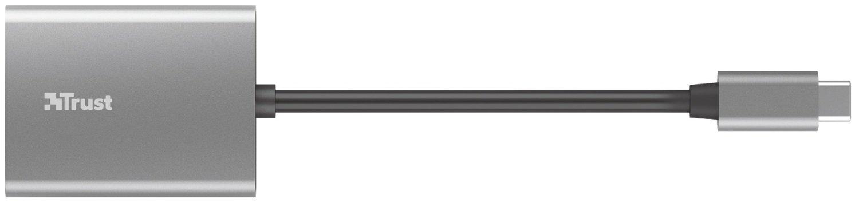 Кардрідер Trust Dalyx Fast USB-C Aluminium (24136)фото3