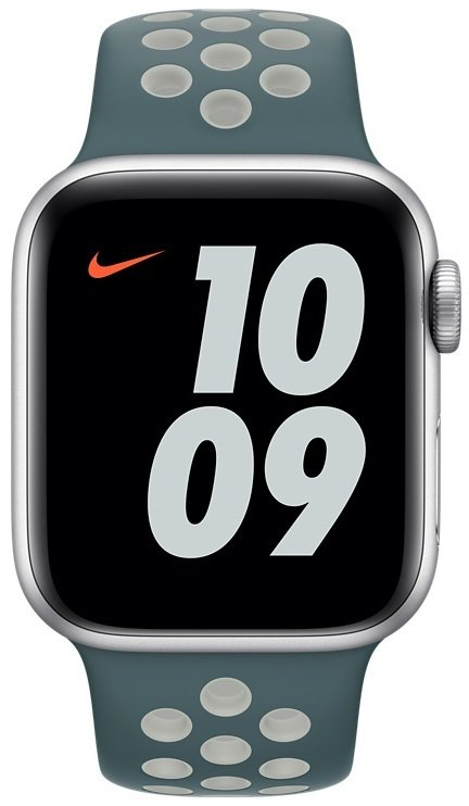 Ремешок Apple Watch 40mm Hasta/Light Silver Nike Sport Band Regular (MJ6G3ZM/A) фото