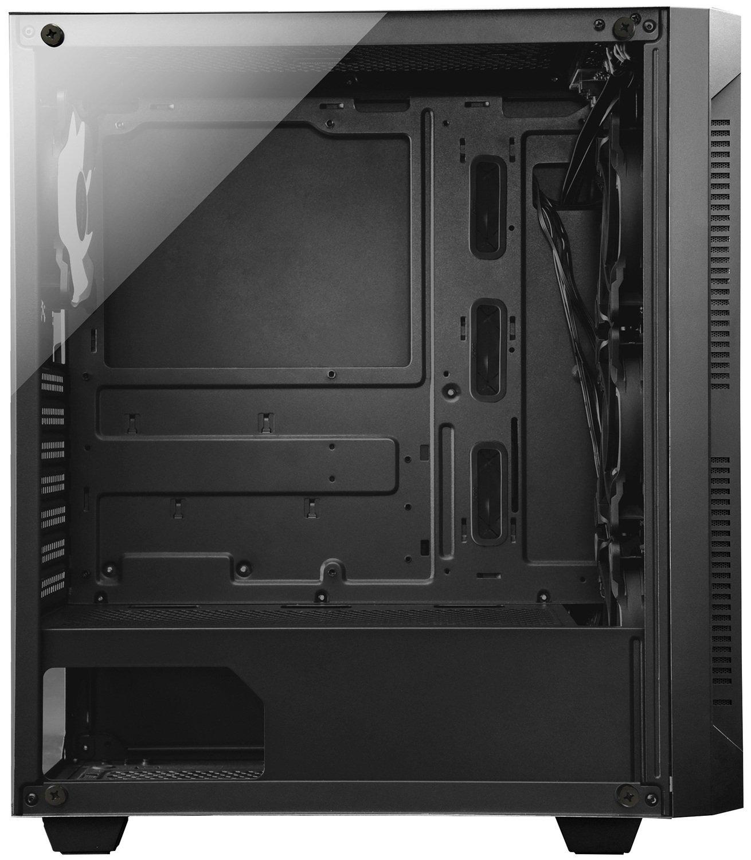 Корпус CHIEFTEC Gaming Hunter Tempered Glass Edition, без БП, черный (GS-01B-OP) фото