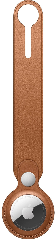 Чехол Apple для AirTag Leather Loop Saddle Brown (MX4A2ZM/A) фото