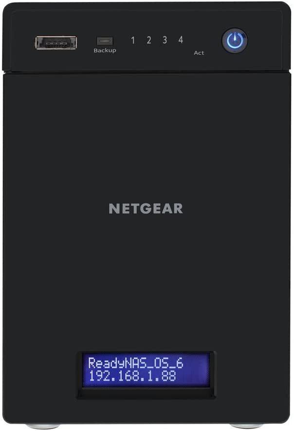 Мережеве сховище NETGEAR ReadyNAS RN214 disklessфото