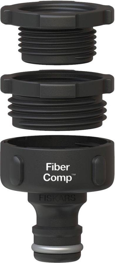 Коннектор для шланга FiberComp Multi Watering Fiskars фото