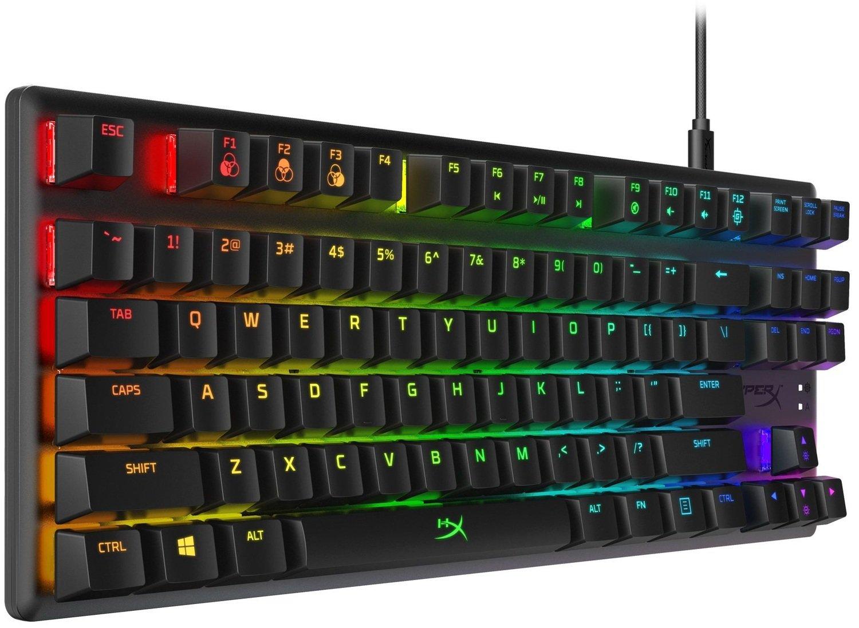 Игровая клавиатура HyperX Alloy Origins Core HX Blue USB (HX-KB7BLX-RU) фото
