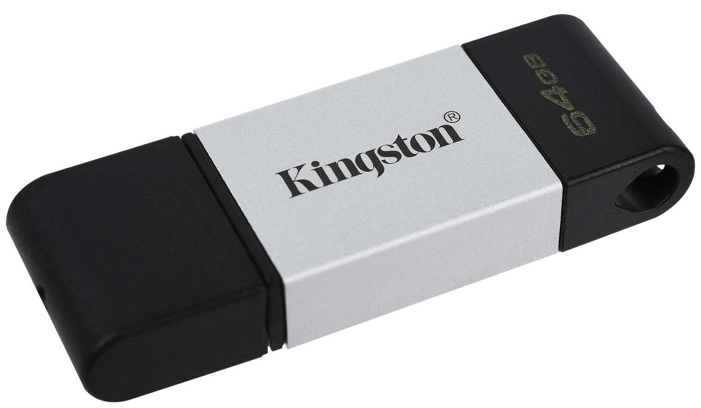Накопитель Kingston DT80 USB-C 3.2 64GB (DT80/64GB)фото4