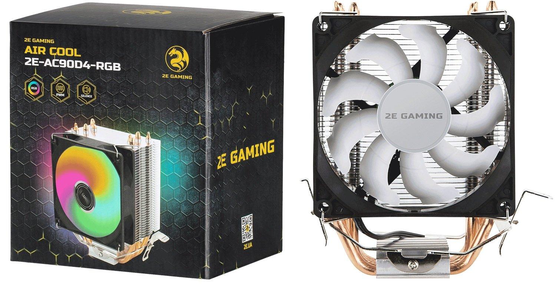 Процесорний кулер 2E GAMING AIR COOL (AC90D4) (2E-AC90D4-RGB)фото