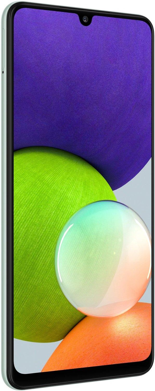 Смартфон Samsung Galaxy A22 4/64Gb Light Greenфото