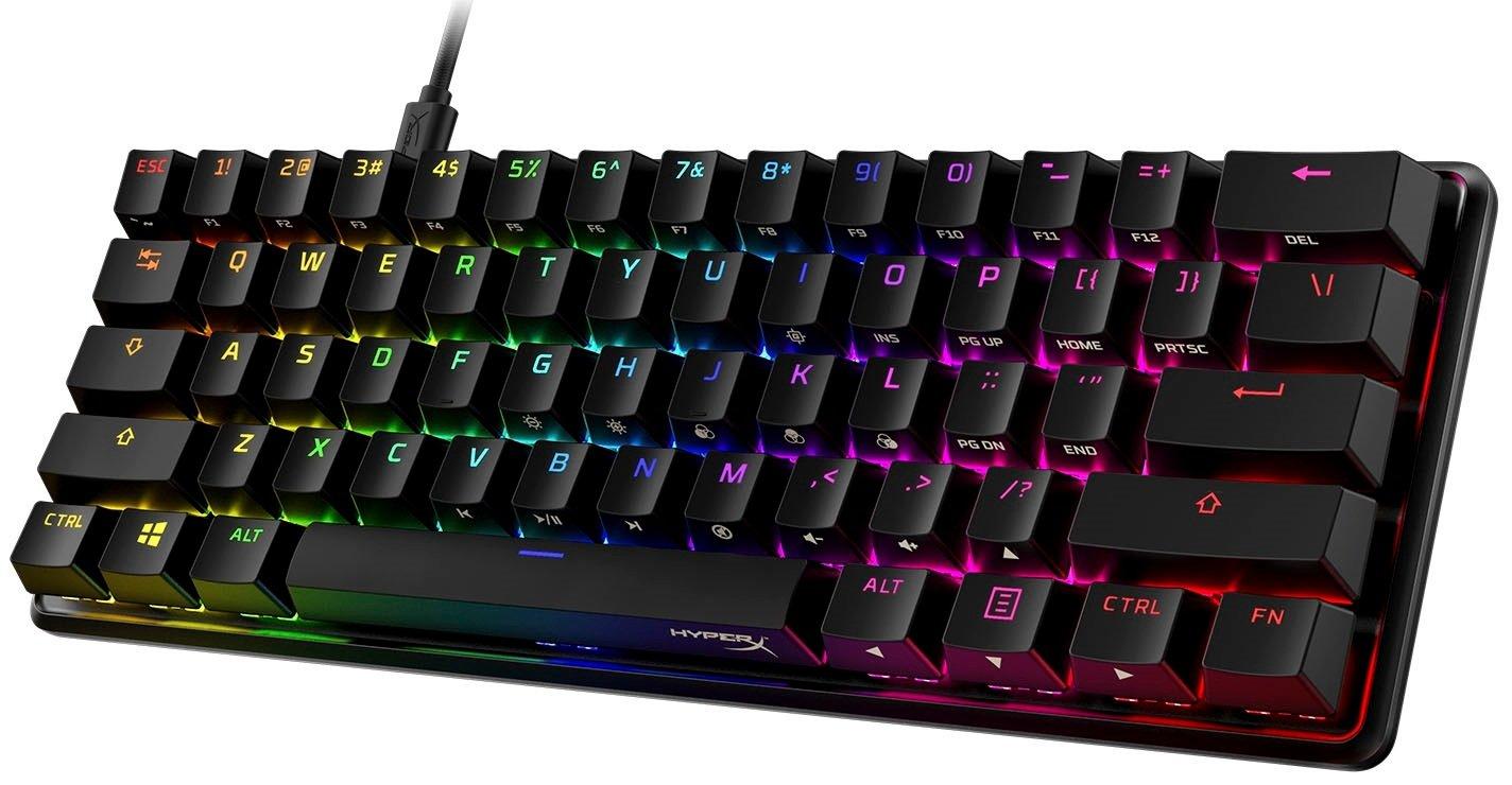 Игровая клавиатура HyperX Alloy Origins 60 HX Red USB (HKBO1S-RB-RU/G) фото