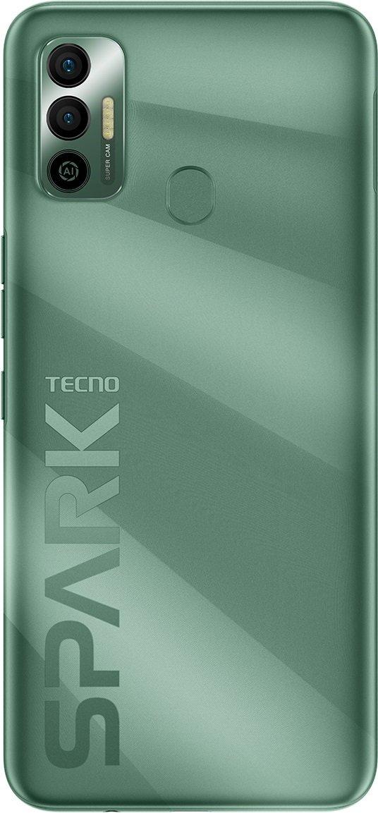 Смартфон TECNO Spark 7 (KF6n) 4/128Gb NFC Spruce Green фото