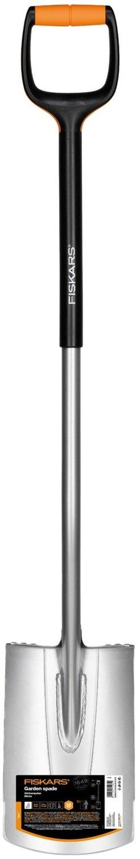 Лопата прямая з закругленным лезвием Fiskars Xact L, 1200 см, 1900г фото
