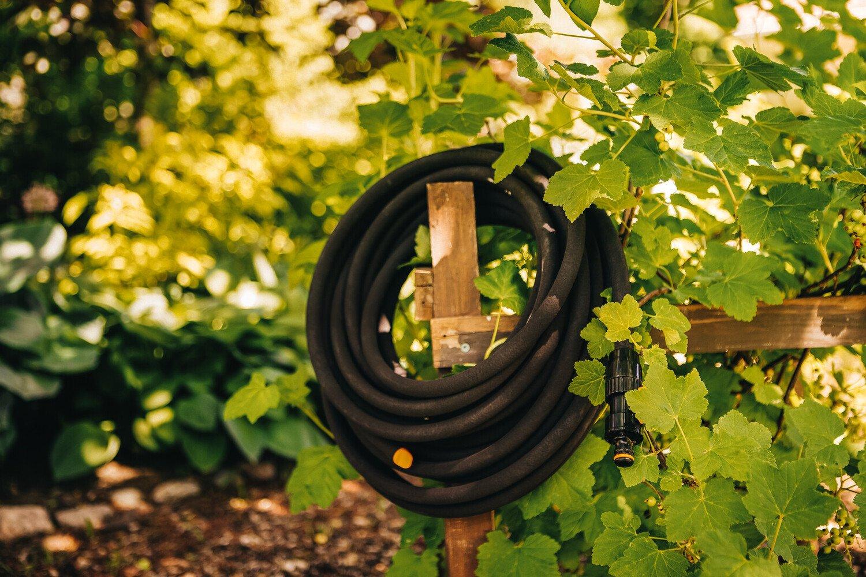 Шланг для капельного полива, 15м Fiskars Watering, 35 см, 1630г фото