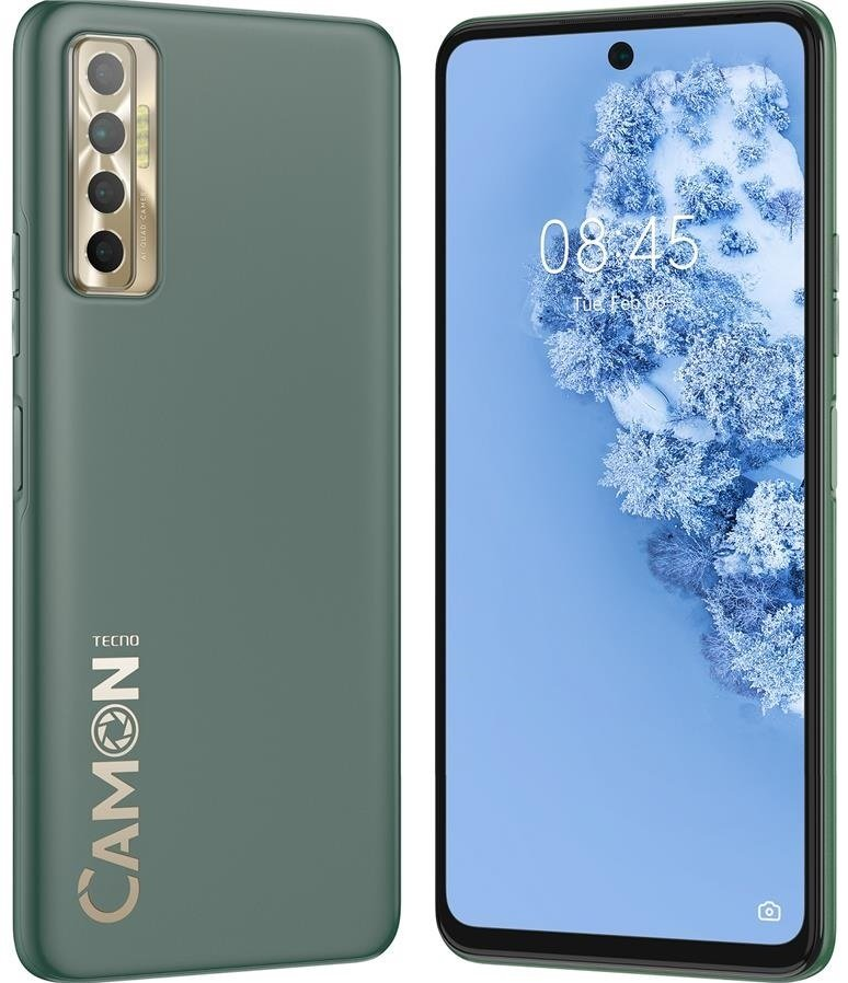 Смартфон TECNO Camon 17P (CG7n) 6/128Gb Spruce Green фото