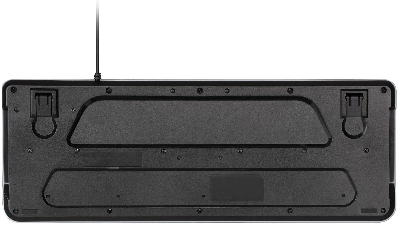 Клавиатура 2E KS120 White backlight USB Black (2E-KS120UB) фото