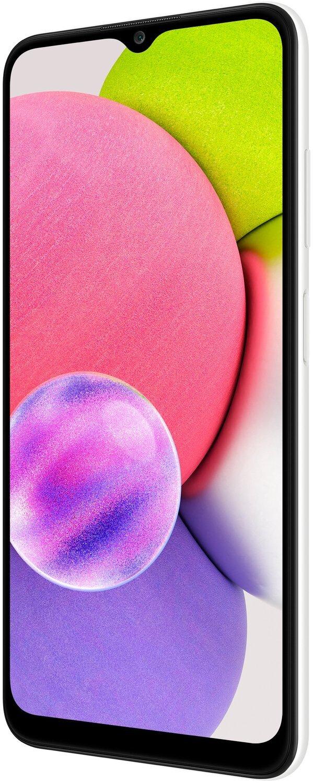 Смартфон Samsung Galaxy A03s 4/64Gb Whiteфото