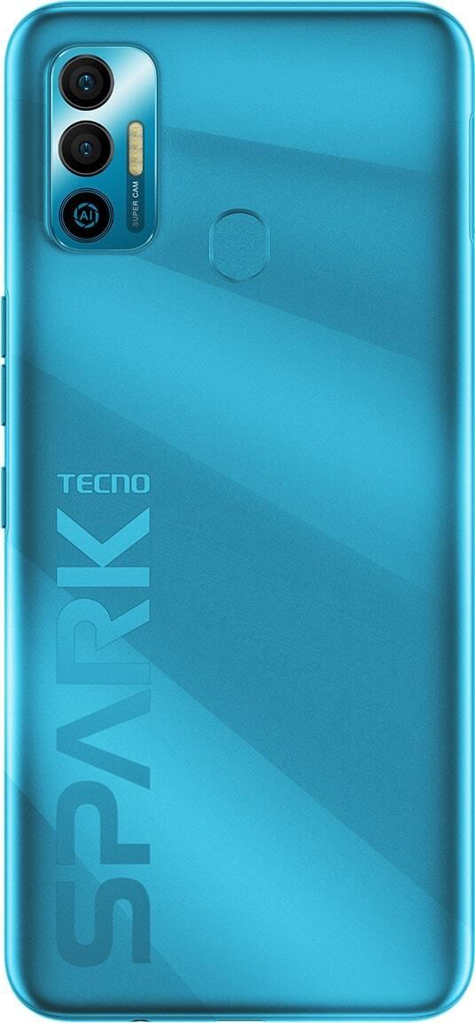Смартфон TECNO Spark 7 (KF6n) 4/128Gb NFC Morpheus Blue фото
