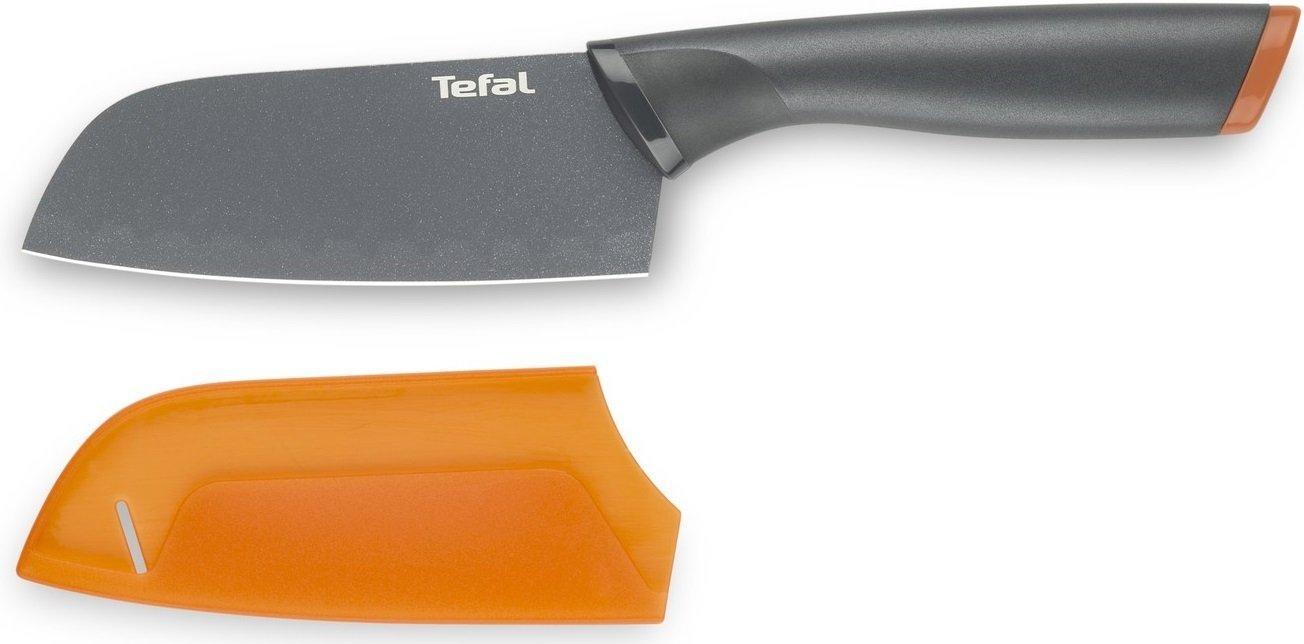 Нож-сантокуTefal Fresh Kitchen 12 см + чехол (K1220104) фото