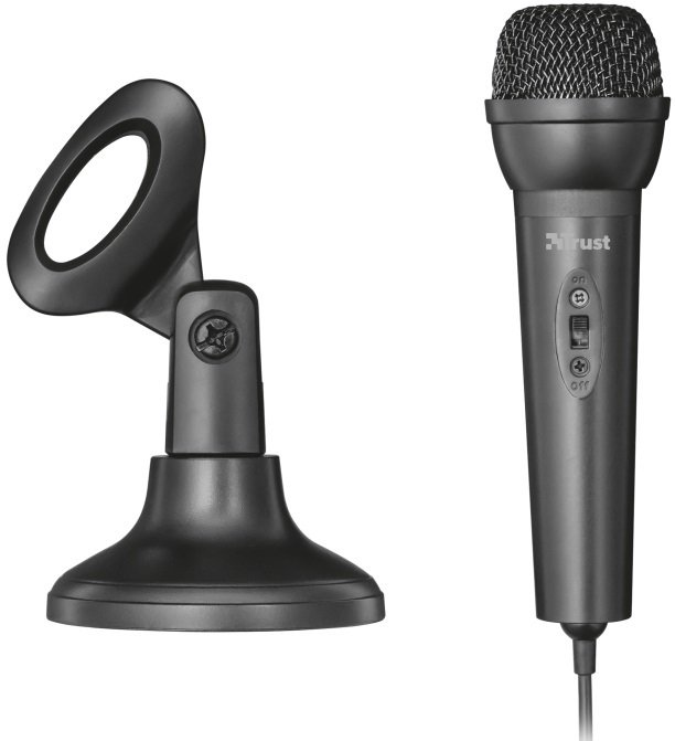 Микрофон Trust All-round Microphone 3.5mm Black (22462) фото
