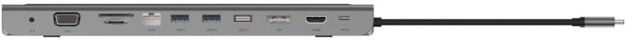 Док-станція Belkin USB-C 11in1 Multiport Dock (INC004BTSGY)фото