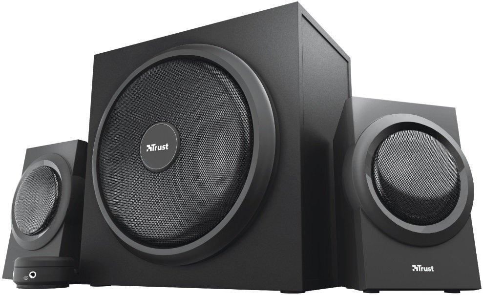 Акустична система Trust 2.1 Yuri Speaker Set, BLACK (23696)фото