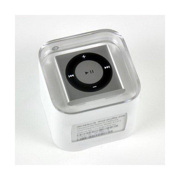 MP3-плеєр APPLE iPod shuffle 2GB Silver (new color)фото4