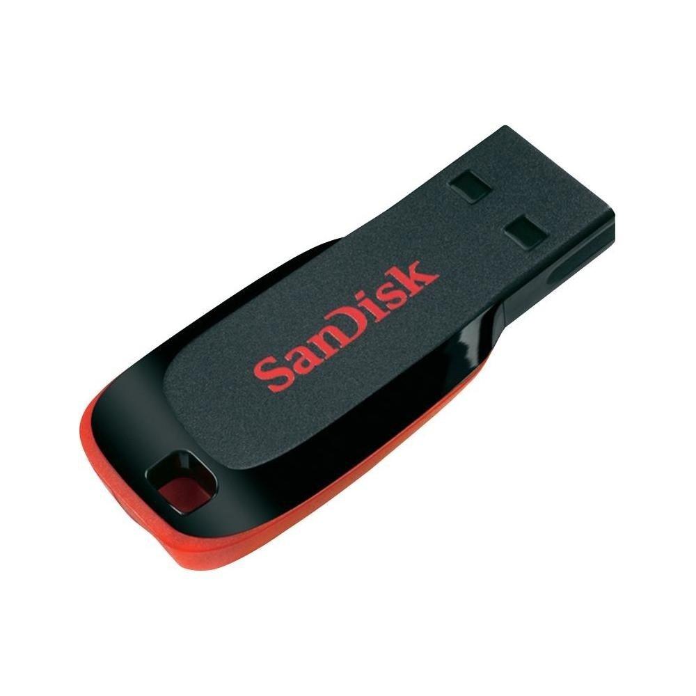 Накопичувач USB 2.0 SANDISK Cruzer Blade 64GB (SDCZ50-064G-B35) фото
