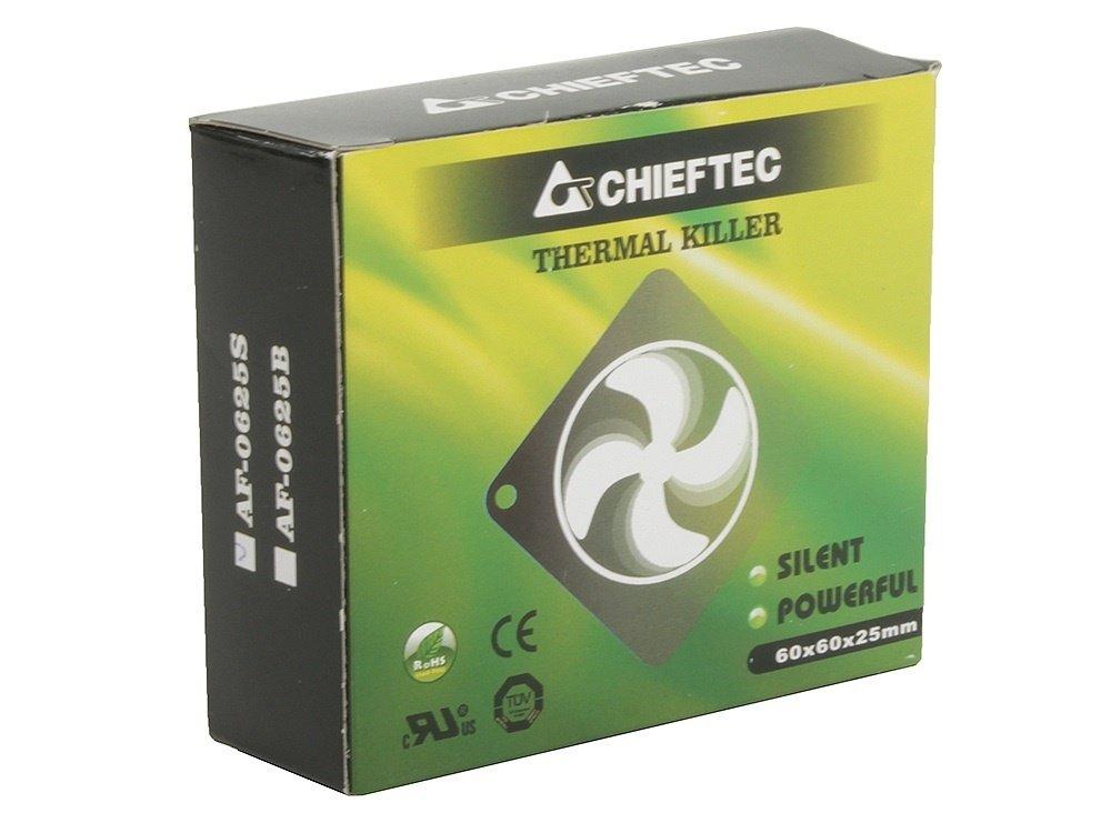 Корпусный вентилятор CHIEFTEC Thermal Killer AF-0625S,60мм,2200 об/мин,3pin/Molex,23dBa (AF-0625S) фото